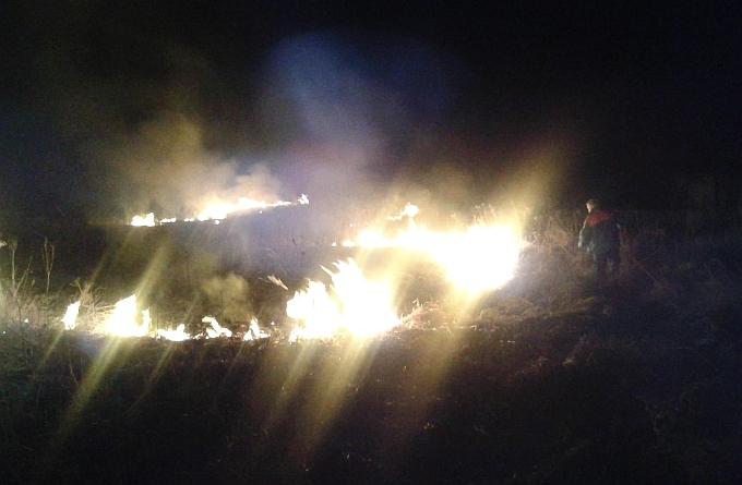 U drugom ovogodišnjem požaru otvorenog prostora u Bedencu izgorjela suha trstika