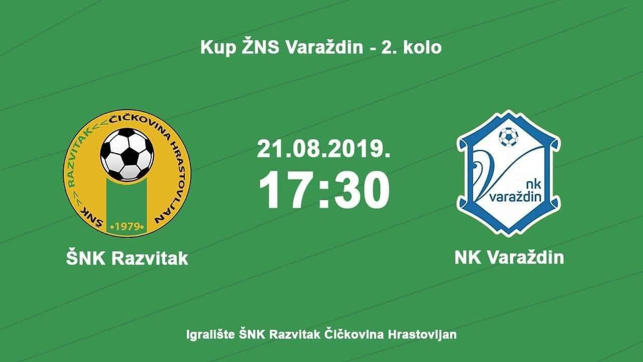 ŠNK RAZVITAK ČIČKOVINA Očekuje se prava nogometna fešta u ludbreškom kraju 21.08.2019 Sport
