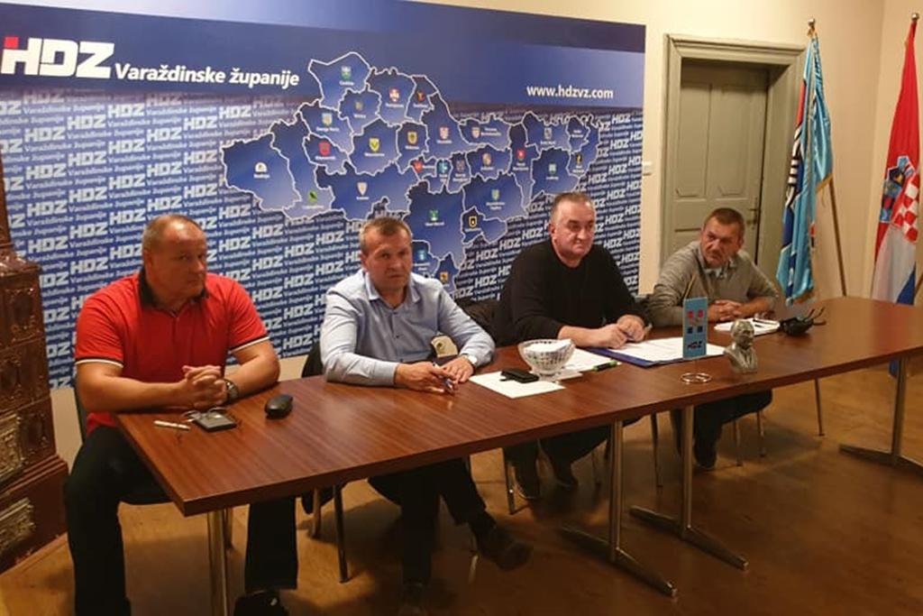 konstituiranje stručnih odbora Osnovani odbori za branitelje te domovinsku sigurnost HDZ a Varaždinske županije 22.10.2019 Politika