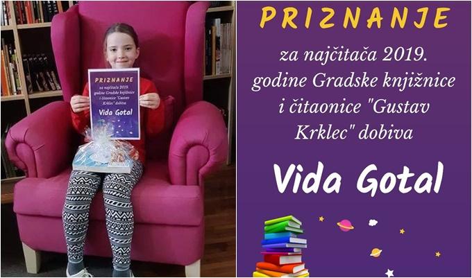 čestitamo čestitamo Vida Gotal ove godine pročitala 85 knjiga i postala najčitačica u Ivancu