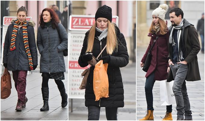 klik klik klik klik FOTO: Tko je danas s kim šetao po gradu zabilježio je naš fotograf! Pravo zimsko subotnje jutro bez ijedne zrake sunce obuklo je varaždinske šetače u tople zimske jakne i kapute, šalove, kape i rukavice pa su tako pod punom zimskom opremom prošetali gradom, a neki su obavili i subotnju kupnju.